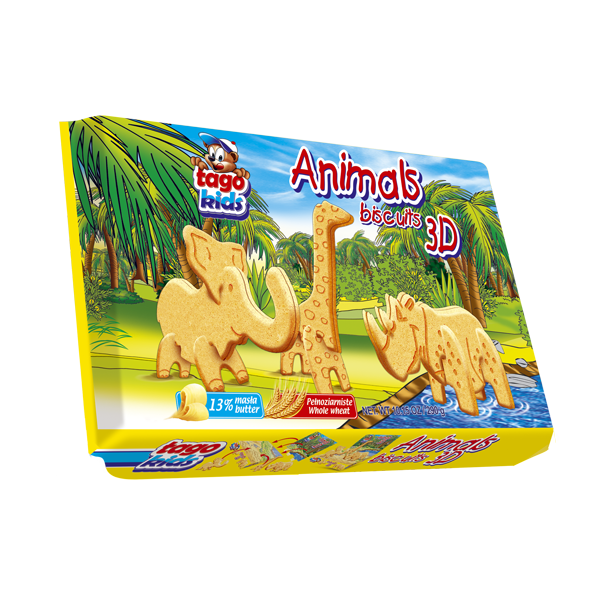 Animals Biscuits 3D