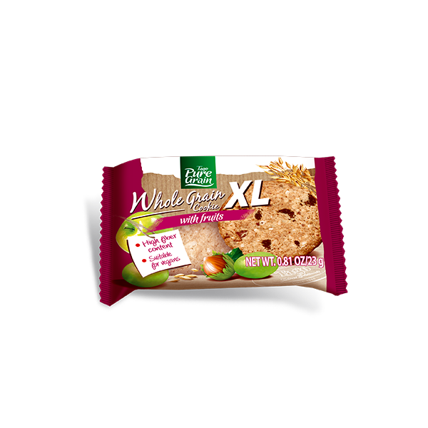 Whole Grain Cookie XL With Fruits